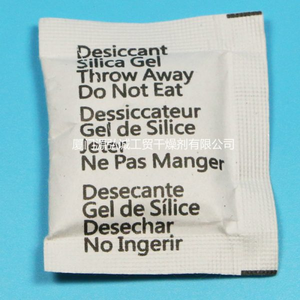 Multi-language composite paper desiccant